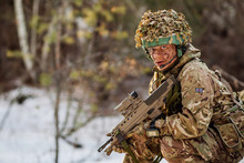 British Special Forces Soldier...