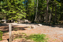 Blackwoods Campground In Acadia National Park In Maine, United States
