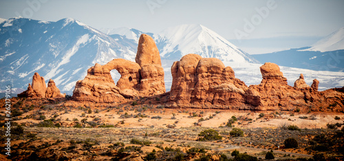 Photographie Arches National Park in Utah - famous landmark - travel photography