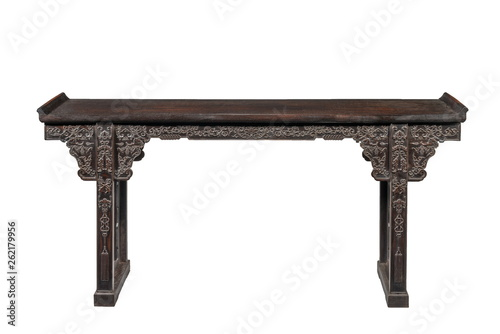 Foto  Chinese hardwood Alter table