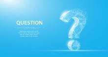 Question Mark. 3d Abstract Vec...