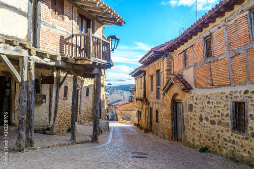 medieval village of calatañazor at soria province, Spain
