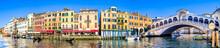 Rialto Bridge In Venice - Italy