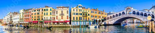 Canvas Prints Venice rialto bridge in venice - italy