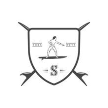 Surfing Logotype.