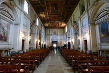 Basilica Di San Sebastiano Fuori Le Mura,roma,italia.