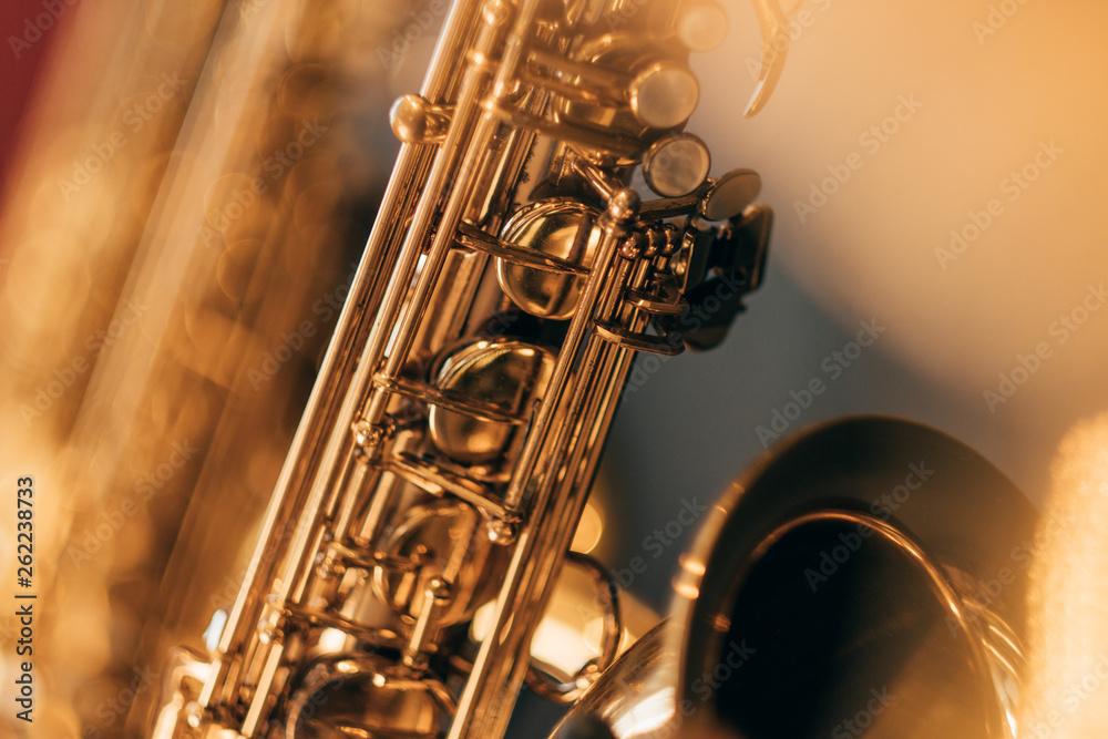 Fototapety, obrazy: Saxophon Blur I