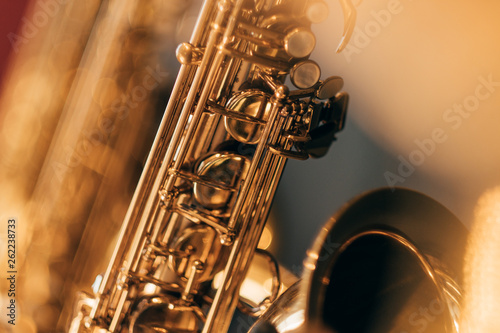 Saxophon Blur I Canvas Print