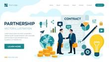 Partnership Concept. Financing...