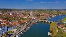 Aerial Shot Of Henley On Thame...