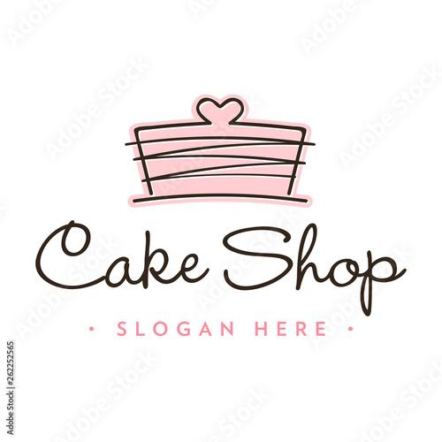 Carta da parati Bakery Logo Icon Template