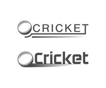 Cricket Lettering.