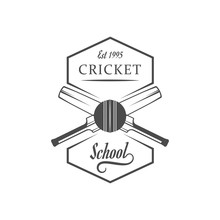 Cricket School Logotype.