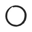 Black Ink Circle.