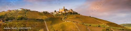 Fotografía  Landscape of Barolo wine region