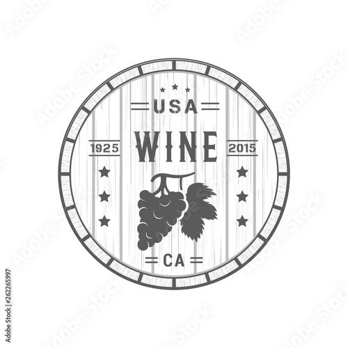 Fototapety, obrazy: Wine Logotype.