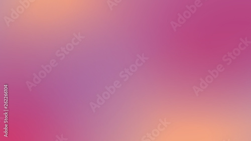 Fotografie, Obraz  Bright pink gradient