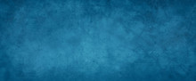 Elegant Blue Background With Marbled Grunge Texture With Paint Spatter And Faint Scratches