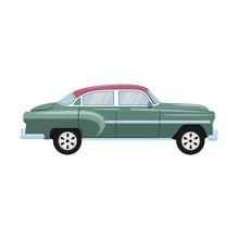Retro Classic Old Car Design