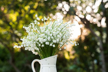 Bouquet Of White Flowers Lily ...