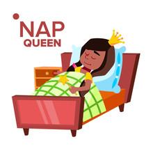 Napping Girl, Sleeping Child V...