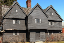 The Witch House In Salem, Mass...