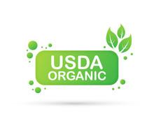 USDA Organic Emblems, Badge, S...