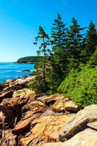 Acadia National Park is Atlantic coast recreation area Wallpaper Mural