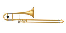 Trombone Isolated