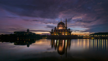 Sunrise Scenery At Putrajaya M...