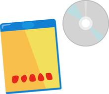 ブルーレイディスクとケース