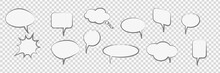 Comic Cartoon Speech Bubbles T...