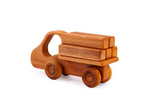 Photo Of A Wooden Car Truck Lo...