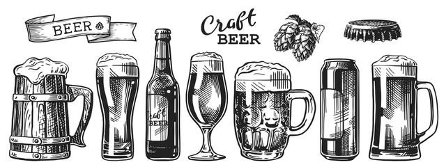 komplet skica piva