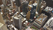 New York, Usa:Aerial view of Manhattan midtown and downtown skyscrapers