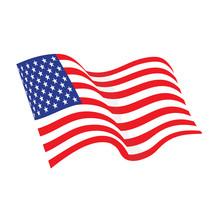 American Waving Flag