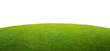 a green grass isolated background