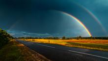 Double Rainbow Over The Highwa...