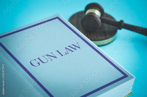 Fotografia, Obraz  GUN LAW CONCEPT