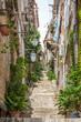 Begrüntes Gassen - und Treppenviertel in Dubrovnik