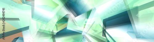 Obraz na plátně Abstract illustration