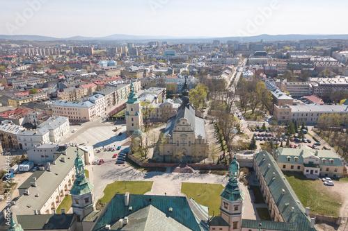 Poland, panorama of Kielce