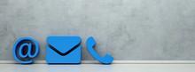Blaue Hotline Und Service Kont...