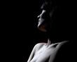 frau nackt dekolette hals gesicht