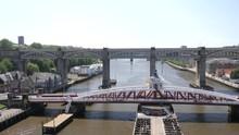 View From Tyne Bridge Of Swing...