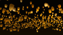 Lucky Floating Sky Lanterns Re...