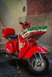 Italienischer Motorroller