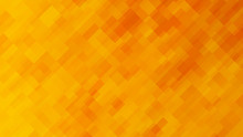 Colour Abstraction With Yellow Rectangles