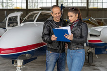 Student Pilot And Instructor G...