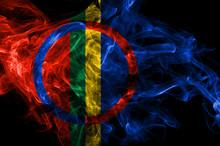 Sami Smoke Flag, Norway Dependent Territory Flag